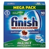 FINISH Powerball Dishwasher Tabs, Fresh Scent, 90/Box, 4 Boxes/Carton