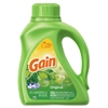 Gain Liquid Laundry Detergent, Original, 50oz Bottle, 6/Carton