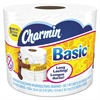 Charmin Basic Bathroom Tissue, 1-Ply, 4 x 3.92, 385 Sheets/Roll, 48 Rolls/Carton
