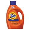 Tide HE Laundry Detergent, Original Scent, Liquid, 100oz Bottle, 4/Carton