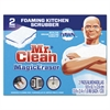 "Magic Eraser Kitchen Scrubber, 3 9/10"" x 2 2/5"", 2/Box"