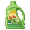 Gain Liquid Laundry Detergent, Original Scent, 100oz, 4/CT