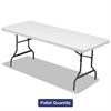 Alera Folding Table, 72w x 30d x 29h, Platinum/Charcoal, 15/Pallet