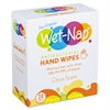 Antibacterial Hand Wipes, 7 1/5 x 5 3/8, White, Citrus Scent, 24/Bx, 6 Bx/Carton