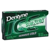 Dentyne Ice Sugarless Gum, Iceberg Mint, 16 Pieces/Pack, 9 Packs/Box