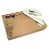 Biotuf Compostable Can Liners, 40-45 gal, .9 mil, 40x46, Light Green, 125/Carton