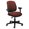 7700 Series Swivel Task chair, Burgundy