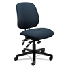 HON 7700 Series Asynchronous Swivel/Tilt Task Chair, Seat Glide, Blue