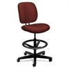 HON ComforTask Series Task Swivel Stool, Burgundy