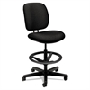 HON ComforTask Series Task Swivel Stool, Black