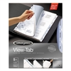 View-Tab Transparent Index Dividers, 5-Tab, Rectangle, Letter, Clear