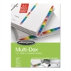 Multi-Dex Index Assorted Color 31-Tab, 1-31, Letter