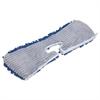 """Flip & Shine Microfiber Floor Mop Refill, 18"""", Blue/Gray"""