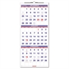 AT-A-GLANCE Vertical-Format Three-Month Reference Wall Calendar, 12 1/4 x 27, 2016-2018