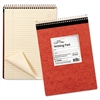 Ampad Gold Fibre Retro Wirebound Writing Pad, Legal, 8 1/2 x 11 3/4, Ivory, 70 Sheets