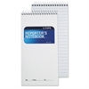 Reporter Notebook, Legal/Wide, 4 x 8, White, 70 Sheets, Dozen