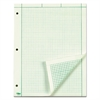 Engineering Computation Pad, 8 1/2 x 11, Green, 100 Sheets