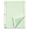 Engineering Computation Pad, 8 1/2 x 11, Green, 200 Sheets