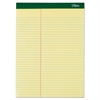 TOPS Double Docket Ruled Pads, 8 1/2 x 11 3/4, Canary, 100 Sheets, 6 Pads/Pack