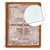 TOPS Second Nature Subject Wirebound Notebook, 11 x 8 1/2, White, 80 Sheets
