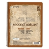TOPS Second Nature Subject Wirebound Notebook, 11 x 8 1/2, White, 50 Sheets
