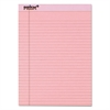 Prism Plus Colored Legal Pads, 8 1/2 x 11 3/4, Pink, 50 Sheets, Dozen