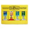 Lil' Drugstore Cold and Flu Single Dose Dispenser, 170-Pieces, Plastic Case, Yellow/Black