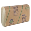 Scott Multi-Fold Towels, 20% Plant Fiber, 9 2/5x9 1/5, Soft Wheat, 250/Pk, 16/Carton