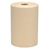 "Hard Roll Towels, 100% Recycled, 1.5"" Core, 8 x 400ft, Natural, 12 Rolls/Carton"