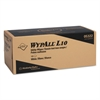 WypAll* L10 Utility Wipes, POP-UP Box, 1Ply, 12x10 1/4, White, 125/Box, 18 Boxes/Carton