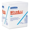 WypAll* X60 Wipers, 1/4 Fold, 12 1/2 x 13, White, 76/Box, 12 Boxes/Carton