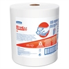 WypAll* X80 Shop Towels, Jumbo Roll, 12 1/2w x 13.4l, White