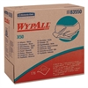 WypAll* X50 Wipers, 9 1/10 x 12 1/2, White, 176/Pop-Up Box, 10 Boxes/Carton