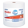 WypAll* X60 Wipers, Jumbo Roll, White, 12 1/2 x 13 2/5, 1100 Towels/Roll