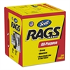 Rags in a Box, POP-UP Box, 10 x 12, White, 200/Box, 8 Boxes per Carton