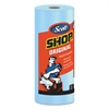 Scott Shop Towels, Standard Roll, 10 2/5 x 11, Blue, 55/Roll, 30 Rolls/Carton