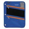Zipper Pouch, 8 3/4 x 11, Cobalt