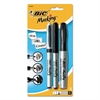 BIC Marking Multi Tip Permanent Marker, Assorted Color, Fine/Ultra-Fine/Chisel, 3/PK