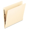 Pendaflex Laminated Spine End Tab Folder with 2 Fasteners, 14 pt Manila, Letter, 50/Box