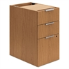 Voi Box/Box/File Support Pedestal, 16w x 24d x 28 1/2h, Harvest