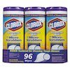 Clorox Disinfecting Wipes with Micro-Scrubbers, 7 x 8, Citrus Blend, 32/Canister, 3/Pk