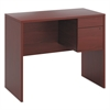 "10500 Series Standing Height Hanging Pedestal, Box/File, 17 3/4"" High, Mahogany"