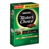 Nescafé Taster's Choice Decaf House Blend Instant Coffee, 0.1oz Stick, 5/Box, 12 Bx/Ctn