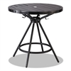 "Safco CoGo Tables, Steel, Round, 30"" Diameter x 29 1/2"" High, Black"