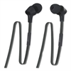 400 Series Earbuds, 3.5 ft Cord, Black