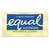Equal Zero Calorie Sweetener, 0.035 oz Packet, 100/Box, 12 Box/Carton