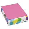BriteHue Multipurpose Colored Paper, 20lb, 8 1/2 x 11,Ultra Fuchsia, 500 Sheets