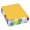 BriteHue Multipurpose Colored Paper, 24lb, 8 1/2 x 11, Ultra Orange, 500 Sheets