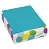Mohawk BriteHue Multipurpose Colored Paper, 24lb, 8 1/2 x 11, Sea Blue, 500 Sheets
