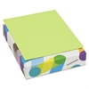 Mohawk BriteHue Multipurpose Colored Paper, 24lb, 8 1/2 x 11, Ultra Lime, 500 Sheets